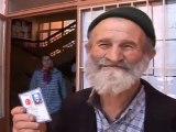 75 yaşında ehliyet sınavına girdi