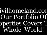 Advertising real estate properties for sale and rent; worldwide real estate agency