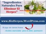 Como eliminar el herpes - Como curar el herpes naturalmente