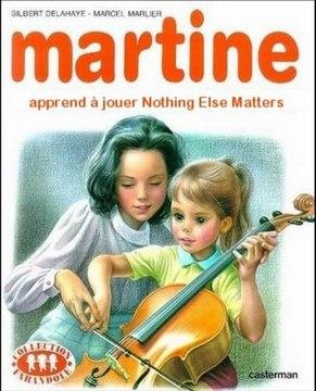 MARTINE Couvertures (version Metal)
