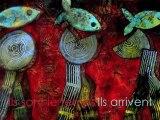 Les Marcheurs (grand) - D'après une œuvre de Marie  Bazin Les Marcheurs
