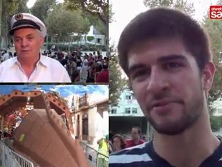 Festa Major de Sants 2011: Entrega de premis dels carrers guarnits