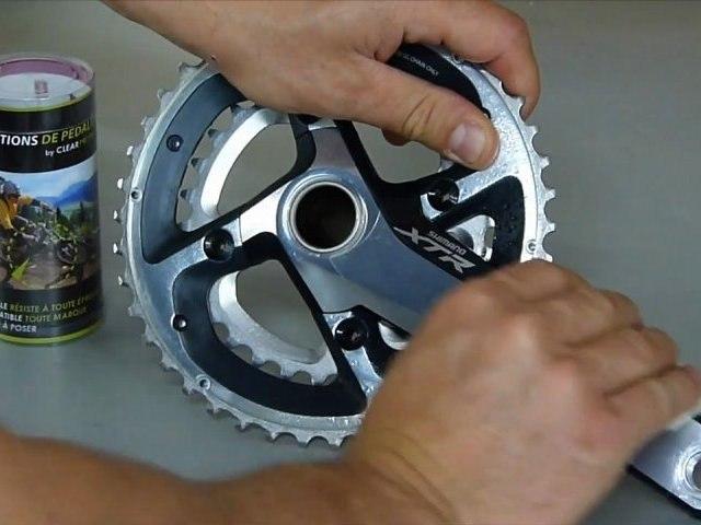 Clear Protect : Protection invisible de pédalier de vélo