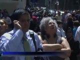 Le tremblement de terre ressenti mardi sur la côte Est des Etats-Unis n'a fait ni blessé ni dégât à New York, selon le maire de New York Michael Bloomberg, mais il a provoqué un vent de panique dans la ville des attentats du 11-Septembre