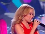 Kylie Minogue  Better Than Today live at  The X Factor 2010