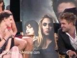 Twilight couple Robert Pattinson and Kristen Stewart get COSY at Comic-Con