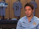 Samir Nasri Manchester City Interview Part 1
