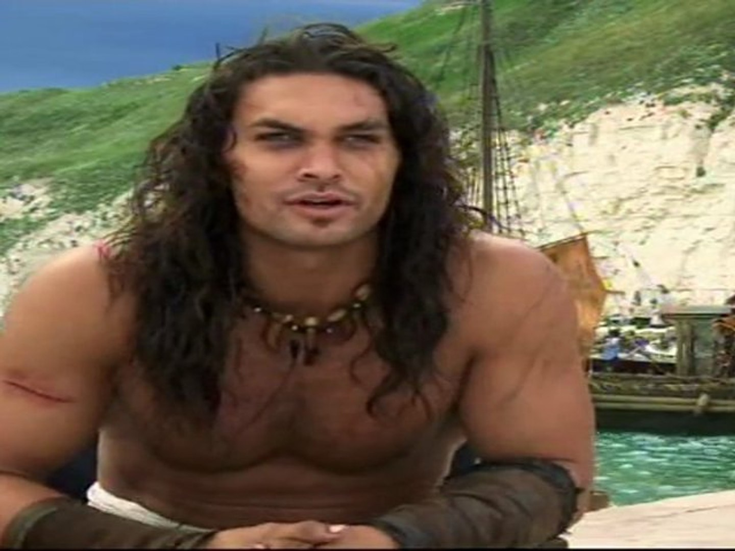 Jason Momoa Interview Conan the Barbarian