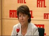 Martine Aubry, maire socialiste de Lille, candidate à la primaire de son parti pour 2012, invitée de RTL (25 août 2011)