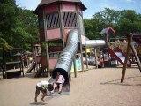 Toboggan au Parc Merveilleux