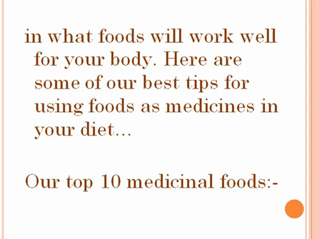 Food As Medicine – Eating For Health