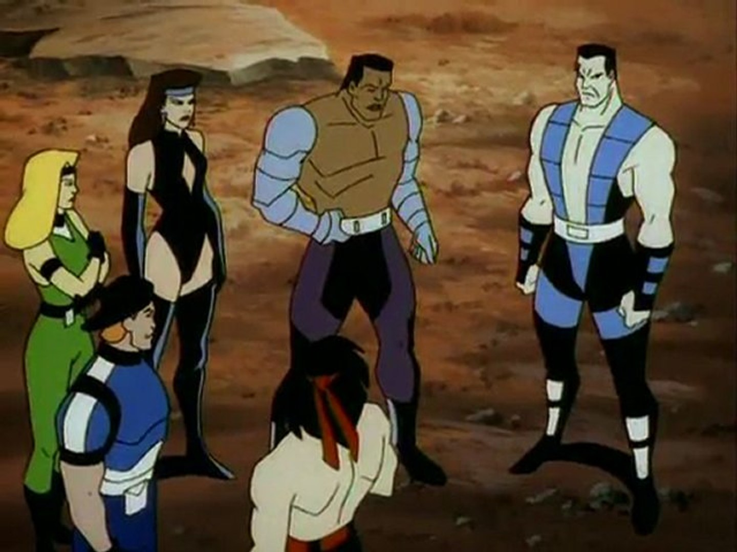 Mortal Kombat Defenders Of The Realm Episode 1 Video Dailymotion