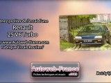 Essai Renault 25 V6 Turbo - Autoweb-France