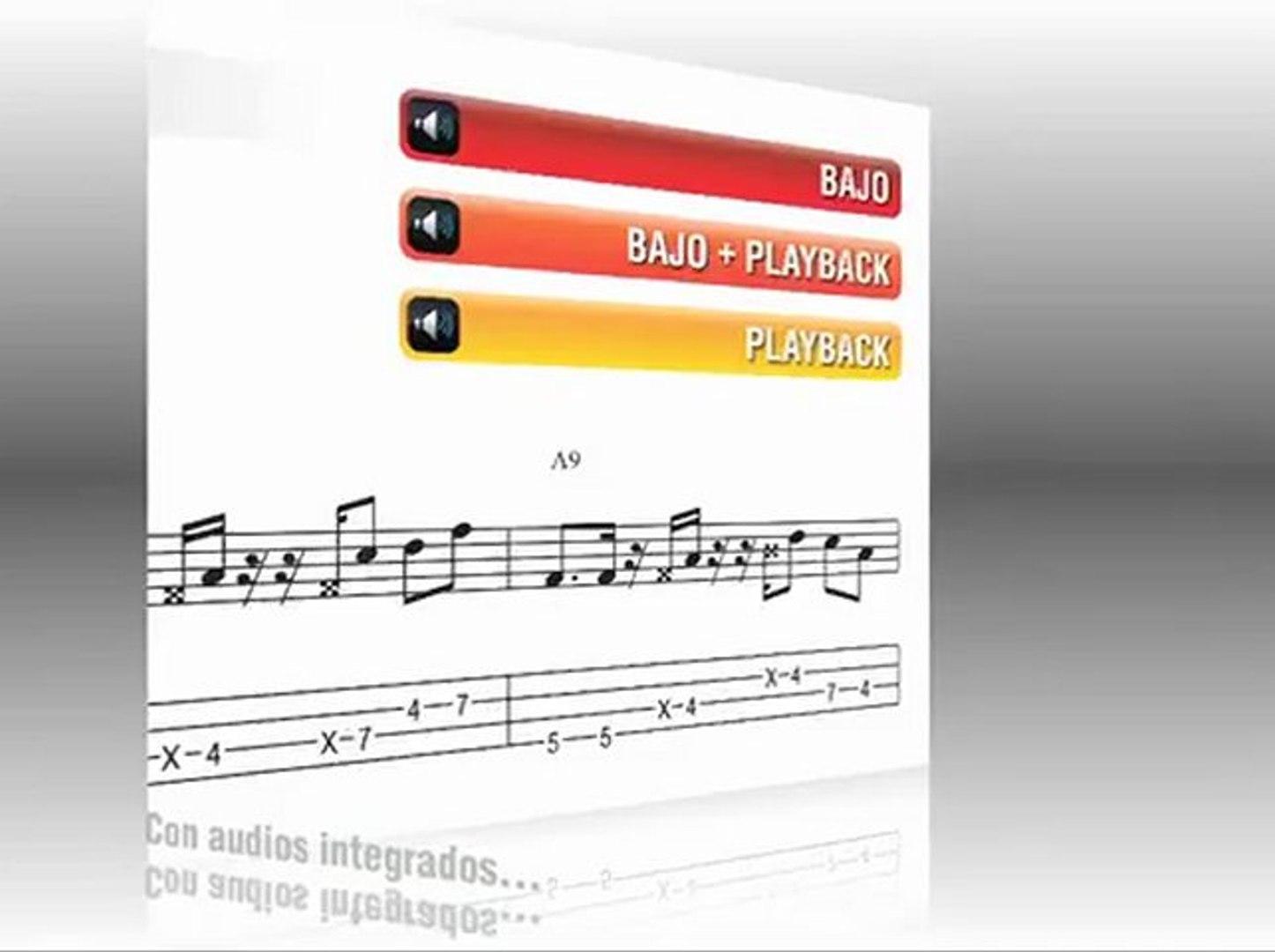 Clase de bajo - Líneas de bajo Rhythm 'n' Blues & Soul