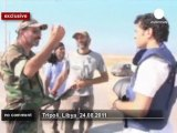 euronews' exclusive footage in Tripoli - no comment