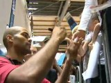 Calaisis TV: L'Equipe de France de basket à Calais