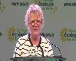 Eva Joly - discours de clôture JDE 2011