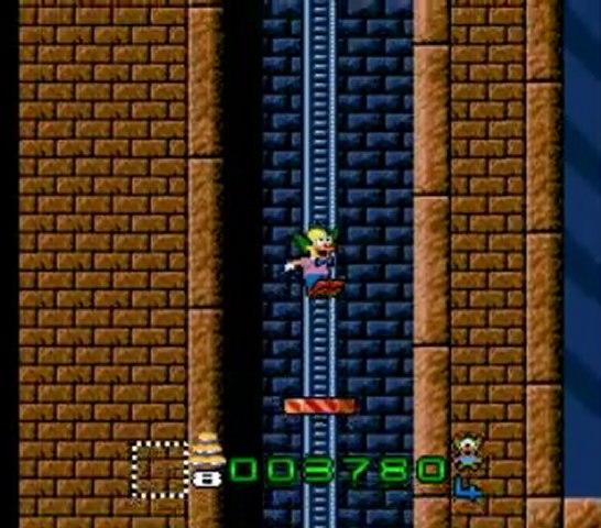 Krusty's Super Fun House, Super Nintendo - Test muet Lyssal