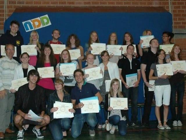remise des diplômes NDD Aout 2011