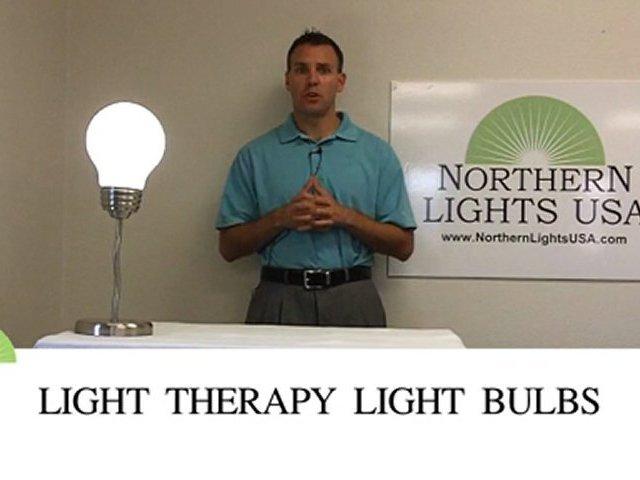 Light therapy light bulbs, Daylight bulbs, Natural Daylight light bulbs