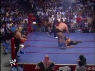 Andre the Giant & Iceman King Parsons vs. Super Destroyers