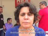 Samy SIDANI (MJS13) et Sophie ROQUES (HES13) à l'Université d'été du PS à la Rochelle 2011