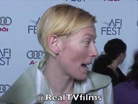 Tilda Swinton, Tilda Swinton Interview, RealTVfilms