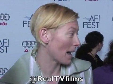 Tilda Swinton, Tilda Swinton Interview, RealTVfilms