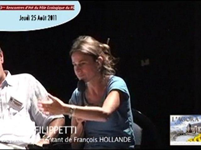 Quelle politique écologique en 2012 ? ...  Aurélie FILIPPETTI (7/8)