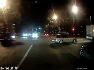 Camion contre voiture