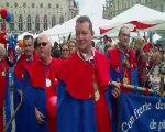 la 10ème fête de l'andouillette à Arras (Pas de Calais)