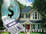 Refinance Frisco Call 972-893-9731 For Help in Texas