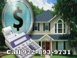 Refinance Carrollton Call972-893-9731 For Help in Texas