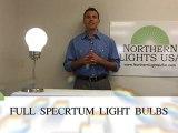 Full spectrum light bulbs, full spectrum fluorescent light bulbs, natural daylight light bulbs, natural daylight bulbs