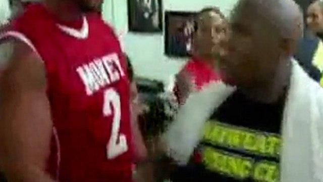 Floyd Mayweather Jr and Floyd Sr Argument!
