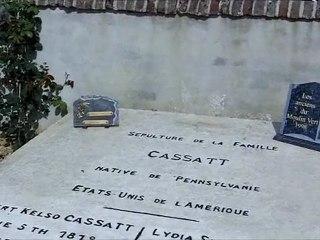 Tombe de Mary CASSATT