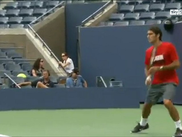 2011 US Open Pre-Event – Interview Sky Sports