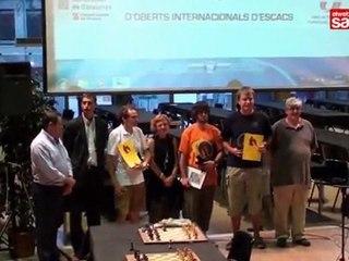 XIII Open Internacional d'Escacs de Sants, Hostafrancs i la Bordeta. Resum final