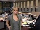 A.J. Cook Interview with Larry Himmel on Criminal Minds set