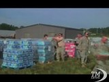 Irene, gli aiuti per la comunità intrappolata in Vermont-Videodoc. Militari Usa pronti a distribuire aiuti alla popolazione