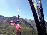 Vol en parapente du Pic du Midi dans les Pyrénées - Eté 2011