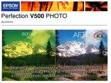 Epson Perfection V500 Photo Scanner - O Melhor Scanner do Mundo Pela About