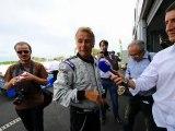 Franck sur le circuit du Mans !