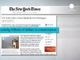 USA : les banques épinglées pour la crise des subprimes - Euronews