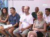 Icaro Sport. Il Presidente del Rimini Biagio Amati alla presentazione di Icaro Sport