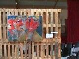 L'exposition d'art contemporain à Saint-Florent-sur-Auzonnet : découverte rapide...