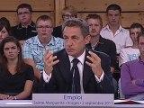 Nicolas Sarkozy relativise les mauvais chiffres de l'emploi