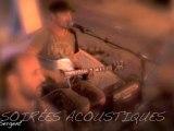 L'Hymne de Nos Campagnes de Tryo aux Soirées Acoustiques du Sergent ( Acoustic guitar bass cover )tryo