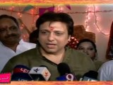 Bollywood Star - Govinda Celebrates Ganesh Chaturthi and wishes his fans