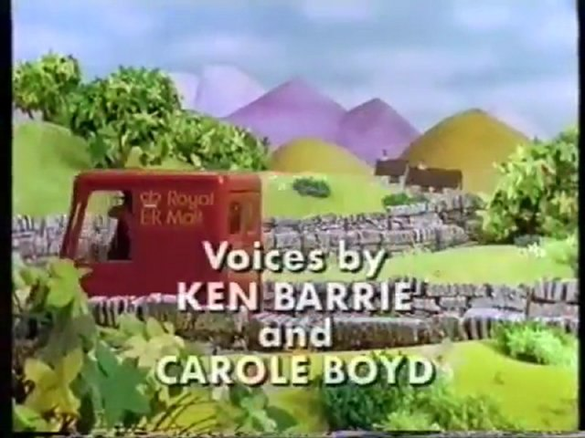 Start and End of Postman Pat Has Too Many Parcels VHS (1997)   Godialy.com